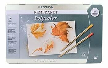 Lyra Rembrandt Polycolor - 36 pencils in Tin Case