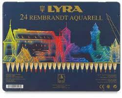 Lyra Rembrandt Aquarell - 24 Pencils in Tin Case