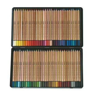 Lyra Rembrandt Aquarell - 72 Pencils in Tin Case