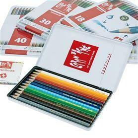 Caran d'Ache Fancolor - 12 Pencils in Tin Case