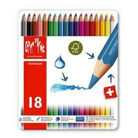 Caran d'Ache Fancolor - 18 Pencils in Tin Case