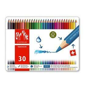 Caran d'Ache Fancolor - 30 Pencils in Tin Case