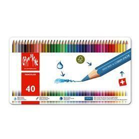 Caran d'Ache Fancolor - 40 Pencils in Tin Case