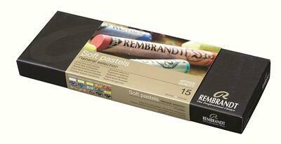 Rembrandt Artists' Softpastels Large - 15 Colours