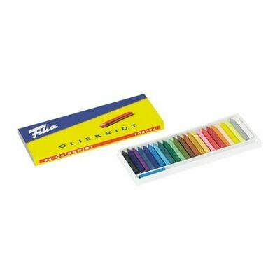 Filia Oil Crayons - 24 Colours