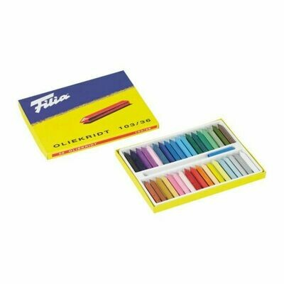 Filia Oil Crayons - 36 Colours