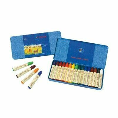 Stockmar Wax Crayons - 16 Assorted