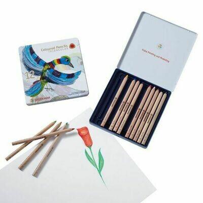 Stockmar Coloured Pencil - Triangular - 12 ass