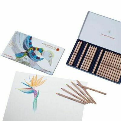 Stockmar Coloured Pencil - Triangular - 24 ass