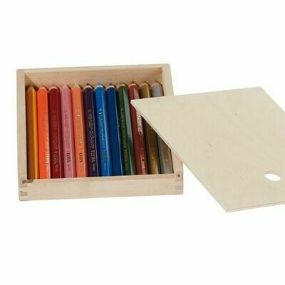 Lyra Color Giants Lacquered - 12 colors - wood Box