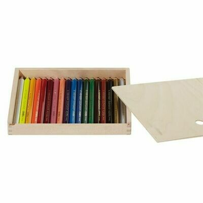 Lyra Color Giants Lacquered - 18 colors - wood Box