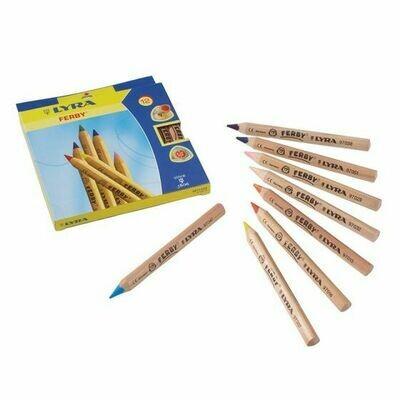 Lyra Ferby Col. Pencils - Standard ass. 12 colours