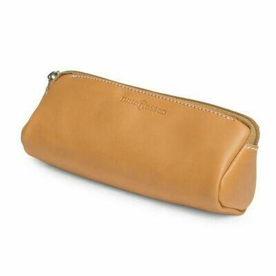 Pencil Case triangular - leather