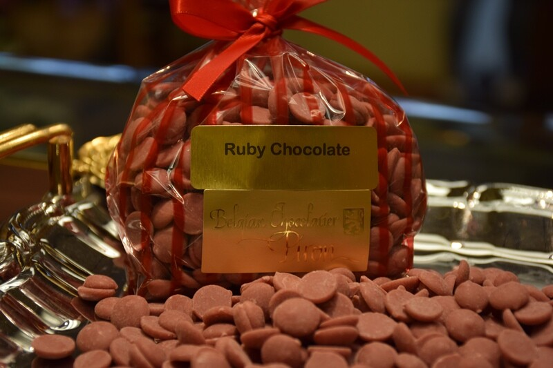 Ruby Chocolate by Callebaut