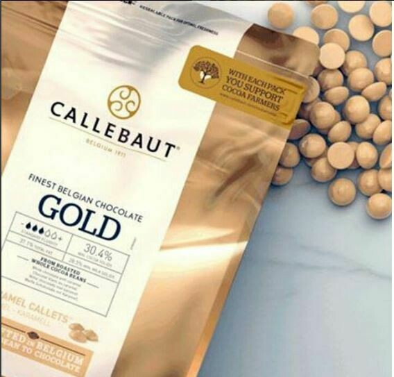 Gold Chocolate by Callebaut