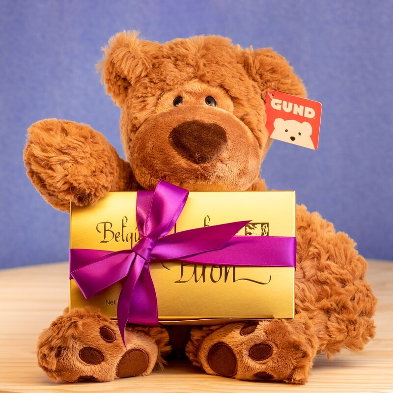 Bear Hug and Chocolate Gift