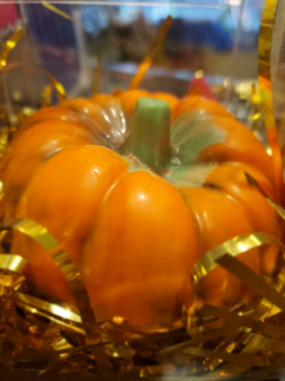 Pumpkin Shaped Chocolate Box