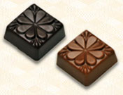 Solid Chocolate Squares