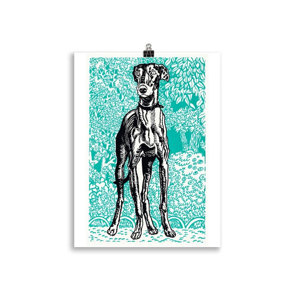 Vintage Hound Poster