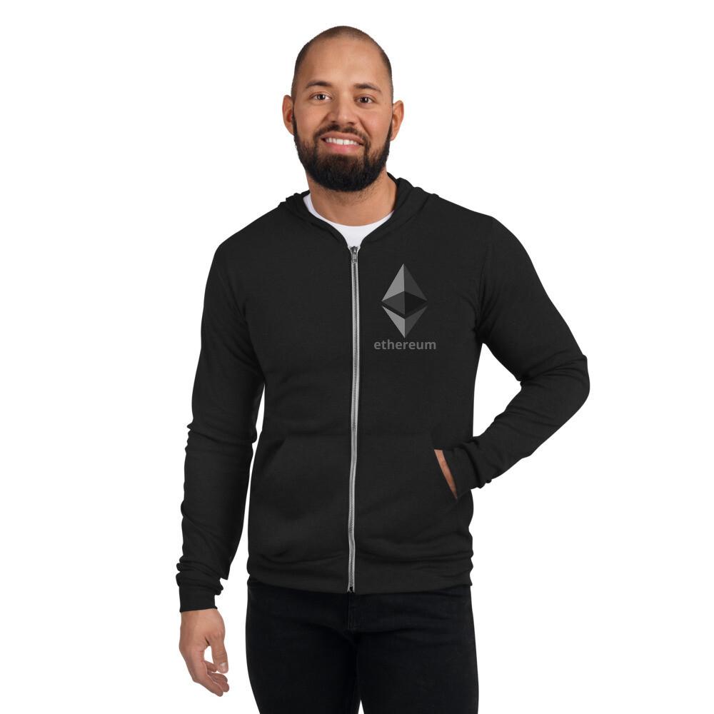 Ethereum Unisex zip hoodie