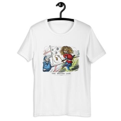 The British Lion Short-Sleeve Unisex T-Shirt