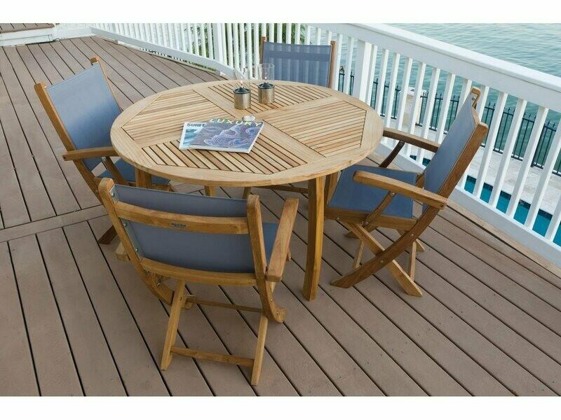 Royal Teak Collection Sailmate Dining Set