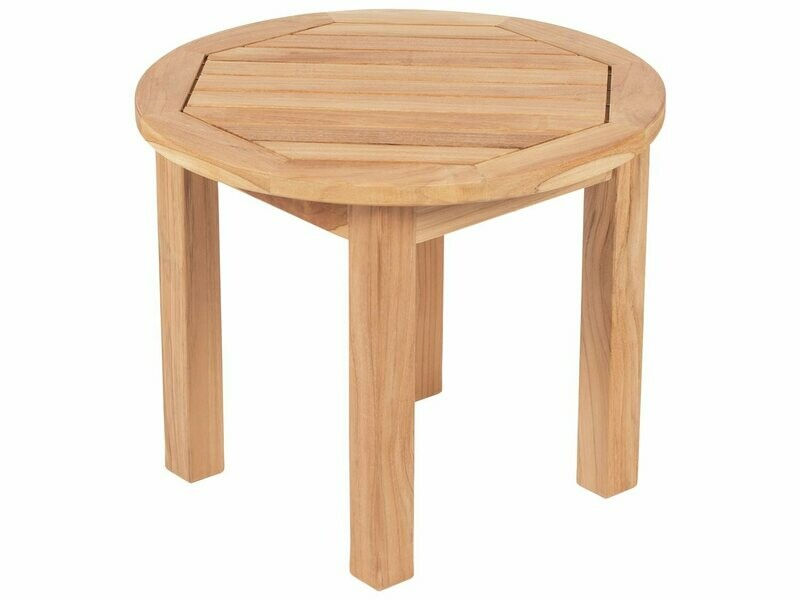 Royal Teak Collection 22'' Wide Round Side Table Round