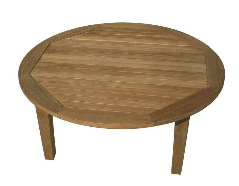 Royal Teak Collection Miami 42'' Wide Round Coffee Table