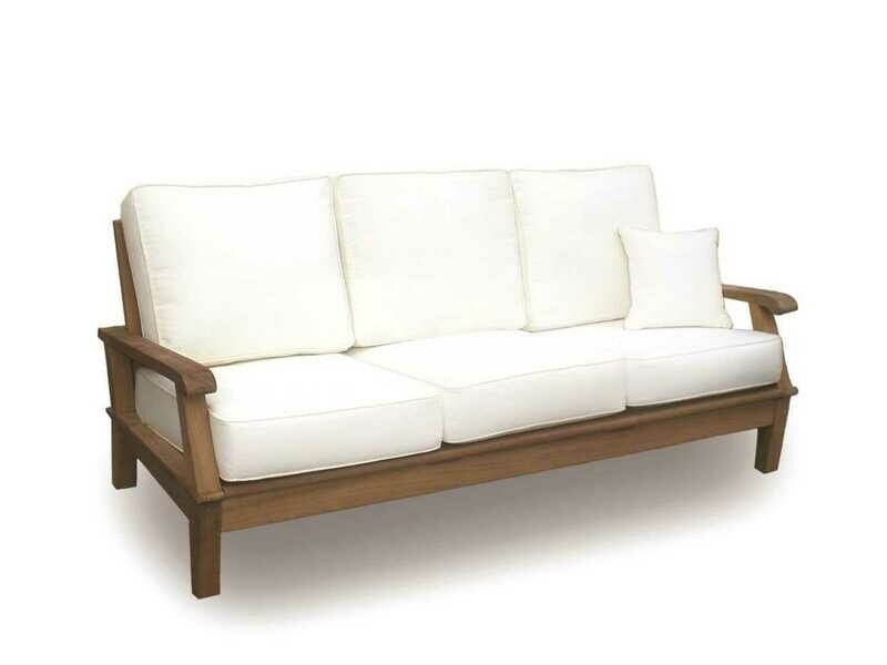 Royal Teak Collection Miami Multi-Color Cushion Sofa