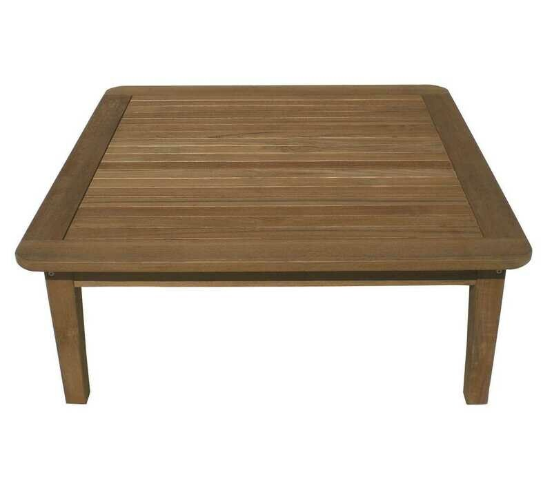Royal Teak Collection Miami 42'' Wide Square Coffee Table