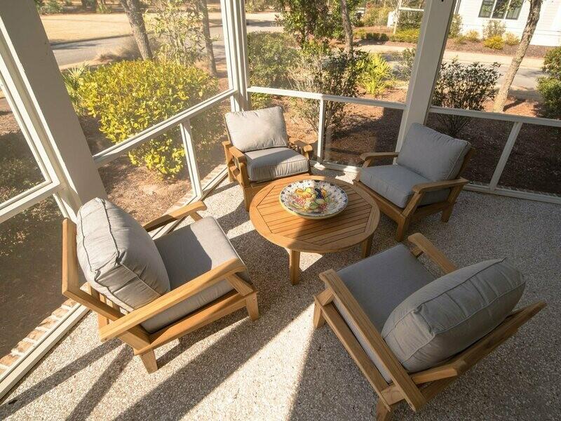 Royal Teak Collection Miami Lounge Set