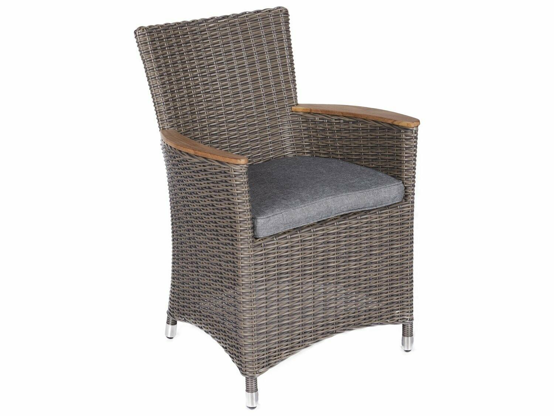 Royal Teak Collection Helena Chair Gray / Gray Cushion