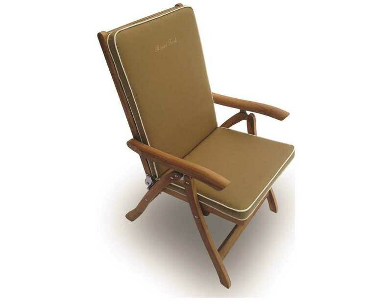 Royal Teak Collection Estate Reclining Lounge Chair