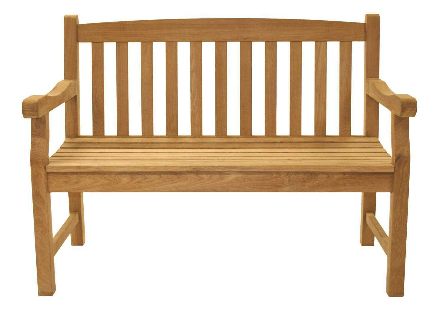 Royal Teak Collection Classic Two-Seater Bench