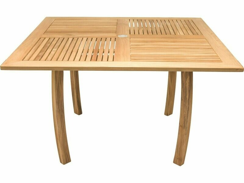 Royal Teak Collection Dolphin 50'' Square Table