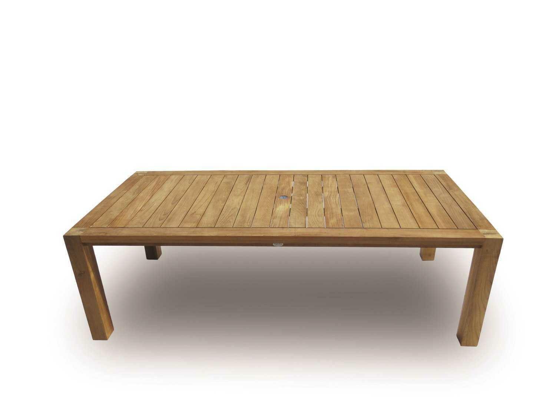 Royal Teak Collection Comfort 96''W x 43''D Rectangular Dining Table
