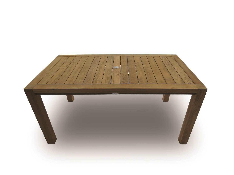 Royal Teak Collection Comfort 63''W x 35''D Rectangular Dining Table