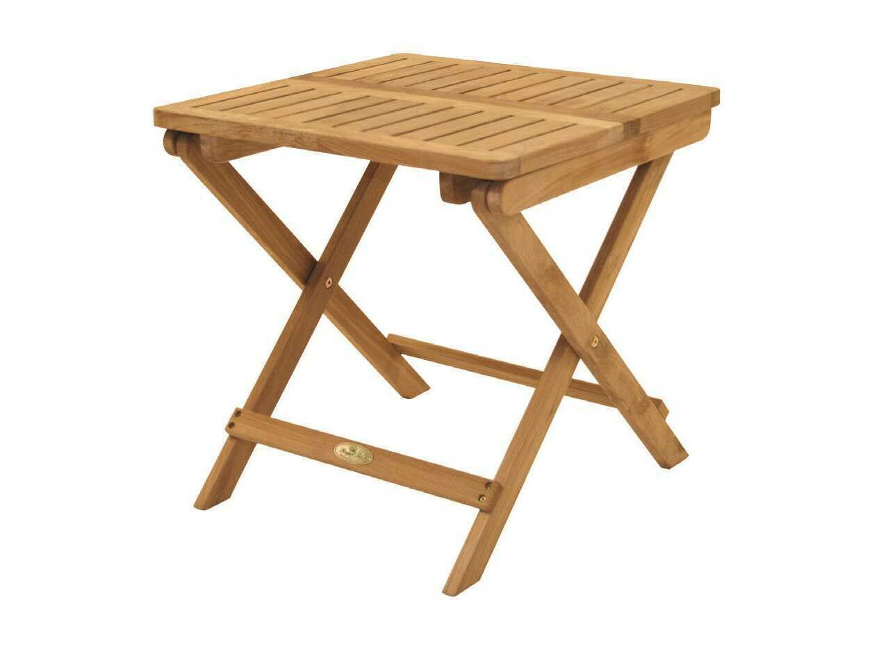 Royal Teak Classic 20'' Wide Square End Table