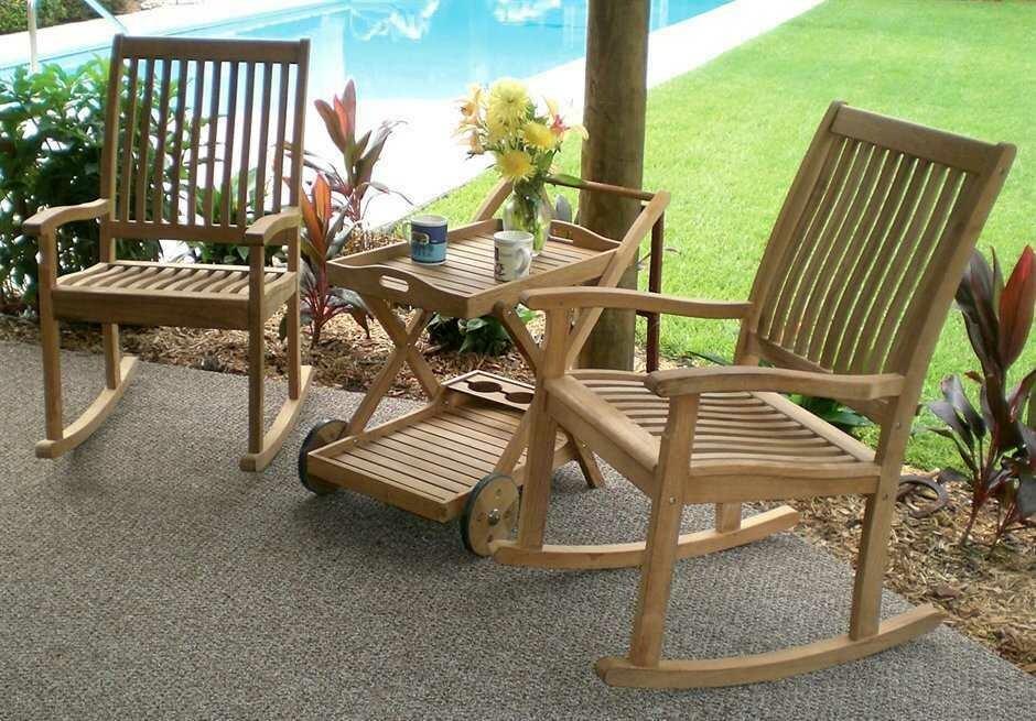 Royal Teak Collection Lounge Set