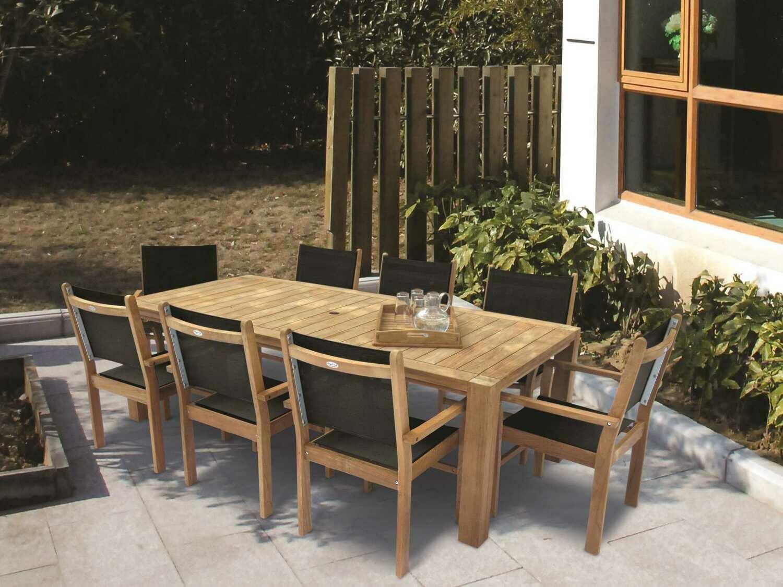 Royal Teak Collection Captiva Sling Dining Set