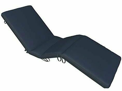 Royal Teak Collection Sun bed Cushion-Navy