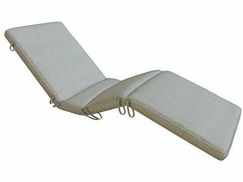 Royal Teak Collection Sun bed Cushion-Granite