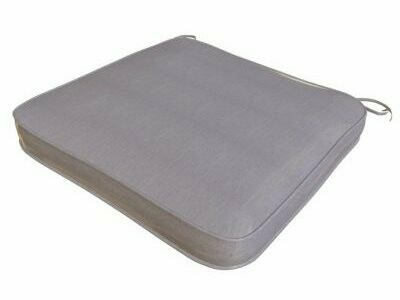 Royal Teak Collection One Seater Cushion-Granite