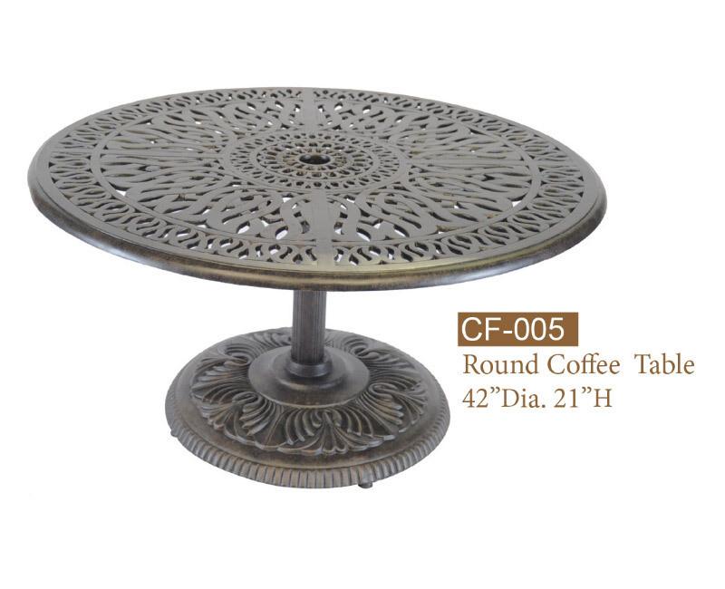 Chat Table w/Pedestal
