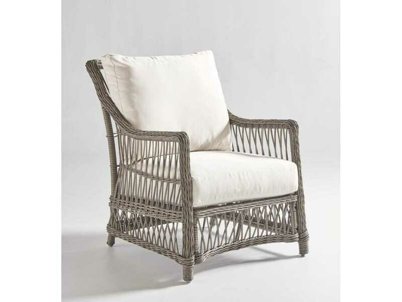 South Sea Rattan Westbay Wicker Slate Lounge Chair
