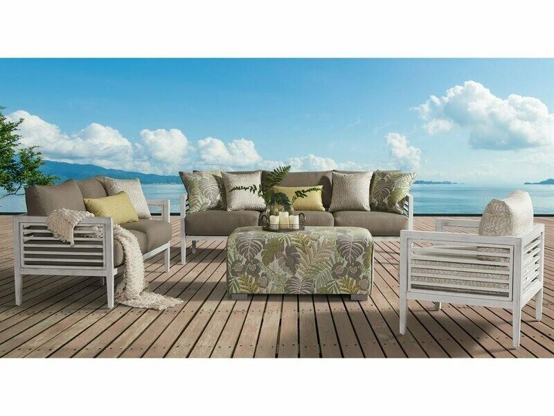 South Sea Rattan Veda Aluminum Lounge Set