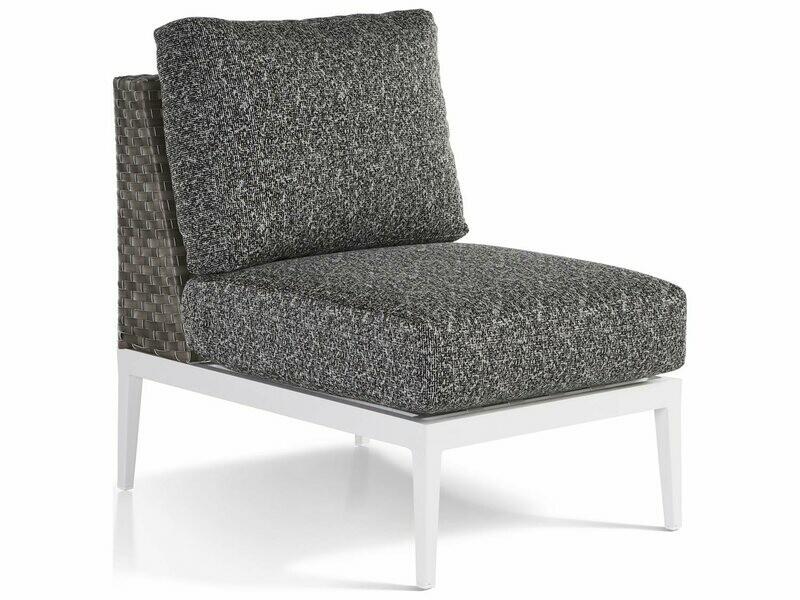 South Sea Rattan Stevie Wicker Modular Lounge Chair