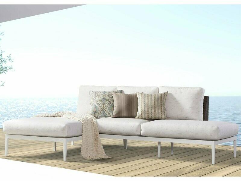South Sea Rattan Stevie Wicker Lounge Set