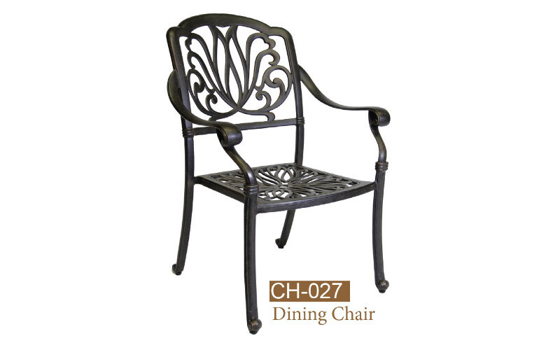 Lilian Collection Fully Welded Dining Chair