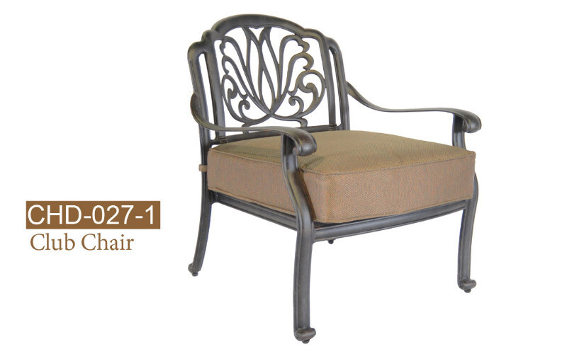 Lilian Collection Fully Welded Deep Seating Arm Chair